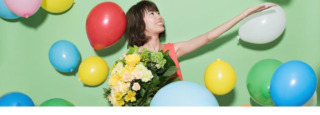 花キューピットの高級路線のサブブランド「プシュケ&」イメージ画像。テーマは爽やかさ。